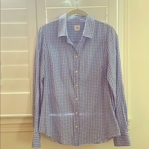J. Crew Gingham The Perfect Shirt
